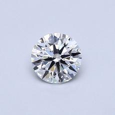 推荐宝石 4:0.42克拉圆形切割钻石