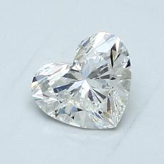 1,02-Carat Heart Diamond Very Good H VS1