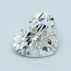 Piedra recomendada 3: Diamante con forma de corazón de 1.08 quilates