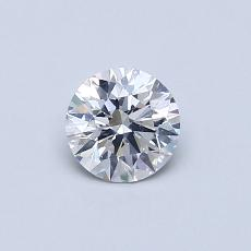 推荐宝石 3:0.37克拉圆形切割钻石