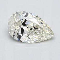推薦鑽石 #3: 1.01 克拉梨形鑽石