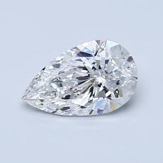 0.70 Carat Pera Diamond Muy buena E VVS1