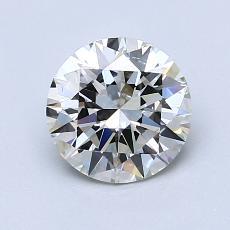 1,20-Carat Round Diamond Ideal I SI1