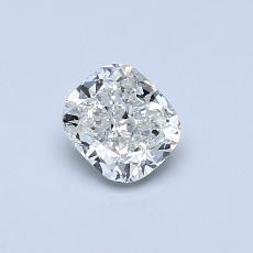 Recommended Stone #3: 0.50-Carat Cushion Cut Diamond