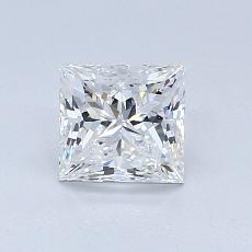 Recommended Stone #4: 0,80-Carat Princess Cut Diamond