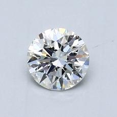 0.62 Carat 圓形 Diamond 理想 G VVS2
