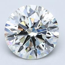 Recommended Stone #3: 3.71-Carat Round Cut Diamond