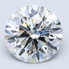 Pierre recommandée n°3: Diamant taille ronde 3,71 carat