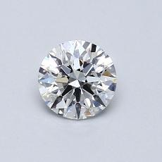 Recommended Stone #4: 0.55-Carat Round Cut Diamond
