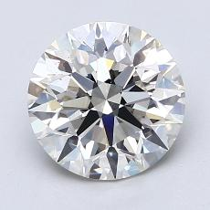 Recommended Stone #2: 2.09-Carat Round Cut Diamond