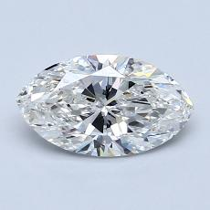 1,00-Carat Marquise Diamond Very Good G SI2