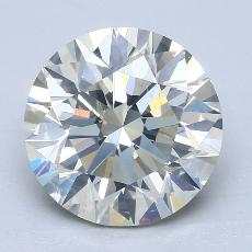 4.00-Carat Round Diamond Ideal K SI2