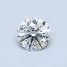 0.52 Carat 圓形 Diamond 理想 J SI2
