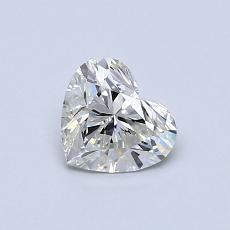 オススメの石No.4:0.50カラットのハートカットダイヤモンド