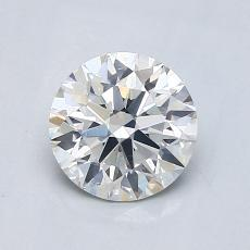 1.03 Carat Redondo Diamond Ideal G SI1