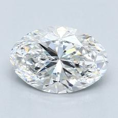 Recommended Stone #2: 1,37-Carat Oval Cut