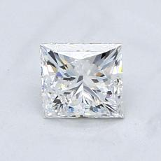 Recommended Stone #3: 0.50-Carat Princess Cut Diamond