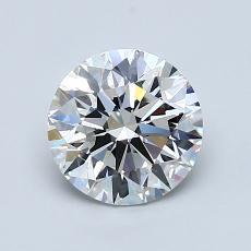 推薦鑽石 #2: 1.07 克拉圓形切割鑽石