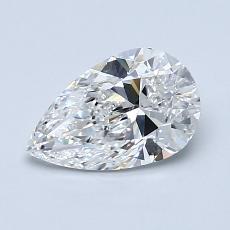 1.01-Carat Pear Diamond Very Good F VS1