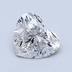 1.03 Carat 心形 Diamond 非常好 E SI1