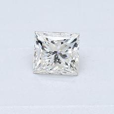 推荐宝石 4:0.35 克拉公主方形钻石