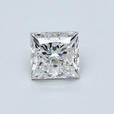 Recommended Stone #4: 0.71-Carat Princess Cut Diamond