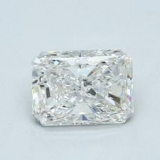 1,01-Carat Radiant Diamond Very Good H SI2
