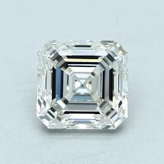 Recommended Stone #3: 1.09-Carat Asscher Cut Diamond