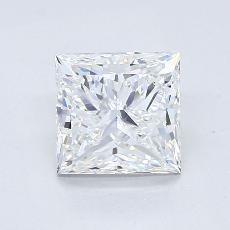 推荐宝石 4:1.50 克拉公主方形钻石