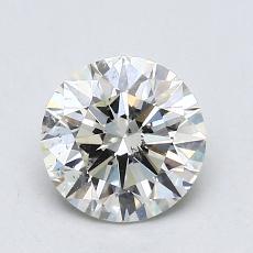 1,01 Carat Rond Diamond Idéale K SI1