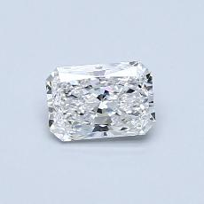 Recommended Stone #3: 0.44-Carat Radiant Cut Diamond