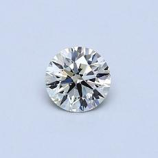 Piedra recomendada 2: Diamante redondo de0.30 quilates