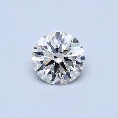Target Stone: 0.42-Carat Round Cut Diamond