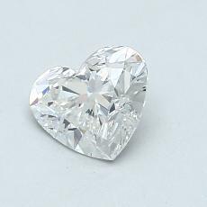 Piedra recomendada 4: Diamante con forma de corazón de 0.91 quilates