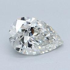 1.02-Carat Pear Diamond Very Good I VS2