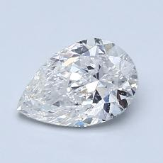 Recommended Stone #1: 0.99-Carat Pear Cut Diamond