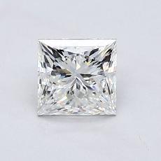 1,01-Carat Princess Diamond ASTOR G VVS1