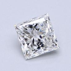 Recommended Stone #2: 0,80-Carat Princess Cut Diamond
