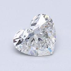 Recommended Stone #4: 0,91-Carat Heart Cut Diamond