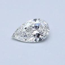 0.30 Carat 梨形 Diamond 非常好 F SI1