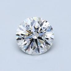 0.75 Carat 圓形 Diamond 理想 G VVS1