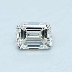 推荐宝石 3:0.46 克拉祖母绿切割钻石