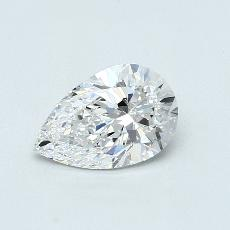 1.21-Carat Pear Diamond Very Good D VVS1