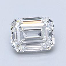 Recommended Stone #3: 1.40-Carat Emerald Cut Diamond