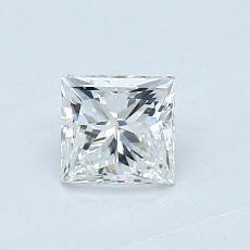 Recommended Stone #2: 0.60-Carat Princess Cut Diamond