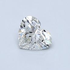 Recommended Stone #3: 0.54-Carat Heart Cut Diamond