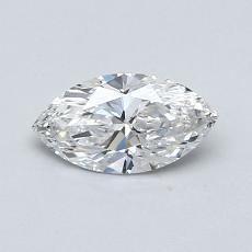 Recommended Stone #3: 0,48-Carat Marquise Cut Diamond
