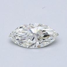 Pierre recommandée n°3: Diamant taille princesse 0,46 carat