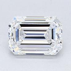 Recommended Stone #2: 1.70-Carat Emerald Cut Diamond
