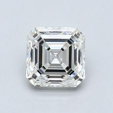 Target Stone: 1.01-Carat Asscher Cut Diamond